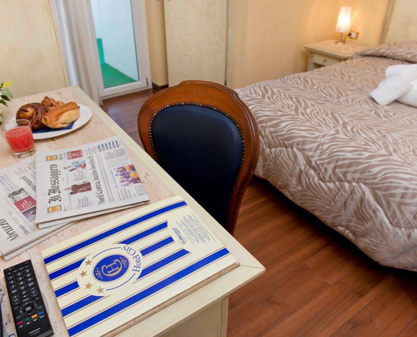 Dettaglio Camera Hotel City 4 stelle Abruzzo Montesilvano