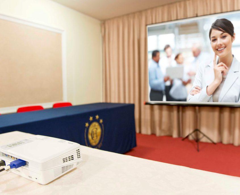 Dettaglio Sala Business Hotel City 4 stelle Abruzzo Montesilvano