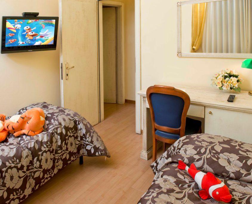 Camere climatizzate Hotel City con sky Tv e wifi gratuito